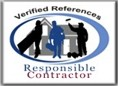 Responsible Contractor with verified references